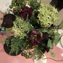 ゲスト用装花