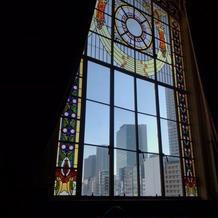 特別室のステンドグラス