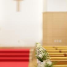 挙式した教会です