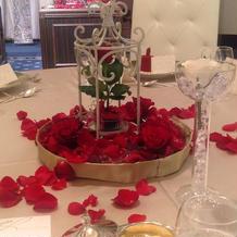 薔薇が素敵でした。