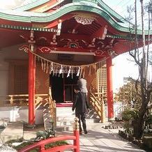 本格的な神殿でした