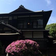 和館の入り口
