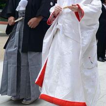 挙式 白無垢・袴