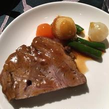 7牛フィレ肉のポワレ