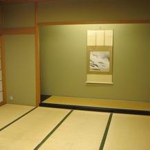 更衣室として使用する部屋