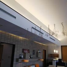 控え室の天井