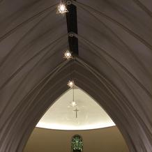 チャペルの天井