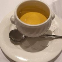 かぼちゃのスープ 絶品です