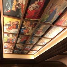 チャペル天井 絵画