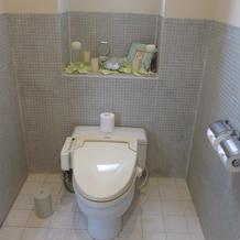 花嫁専用のトイレ
