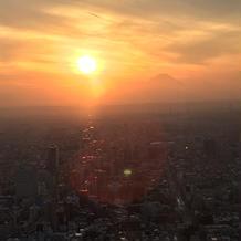 当日の富士山写真も撮ってくれたプランナー