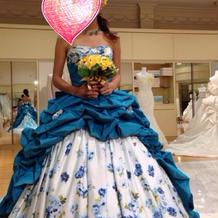 武井咲ちゃんモデルのドレス