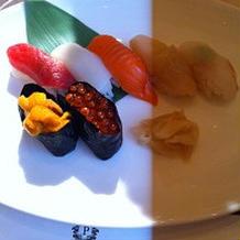 寿司ブッフェ
