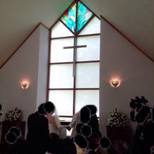 教会の中も素敵でした