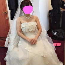 式当日ドレス