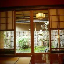 試食させてもらった個室。すてきです