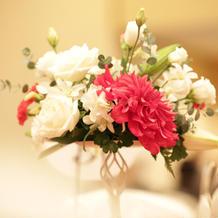 テーブル装花♪