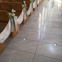 床はとてもきれい!