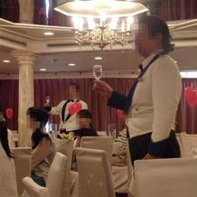 オペラ歌手によるサプライズ演出