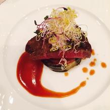 料理5 牛肉ステーキ