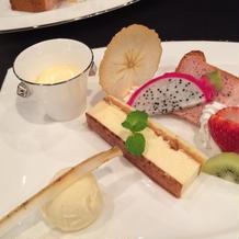 デザートはバラエティに富んで、味も最高!