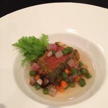 和風のような洋風のような、美味しい魚料理