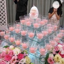 こんなにかわいい蝋燭もありました