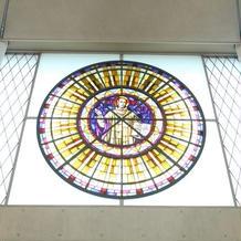 マリア聖堂ガラス細工