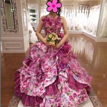 カラードレスも種類豊富!