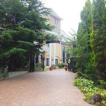建物への入り口です。