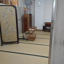 着替えルームにもなる和室です。