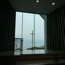 扉オープンした後の祭壇