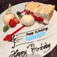 当日が私の誕生日でした!