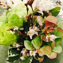 ゲスト卓上装花
