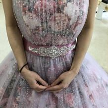 カラードレスはやっぱりピンク♪