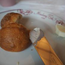 パン バターがとても美味しくて有名です