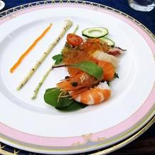 前菜2*海の幸のアンサンブル