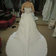 本番ドレス(試着はサイズが…)