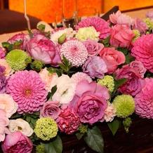 丁寧にお花の好みを聞いてくれるお花屋さん