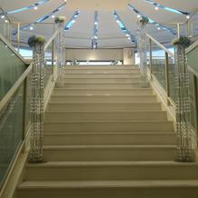 チャペルの階段