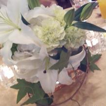 お花のセンスも可愛いです。お洒落