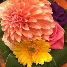 花束のプレゼント*\(^o^)/*