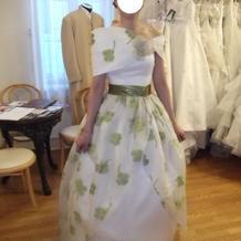 クローバーのドレス