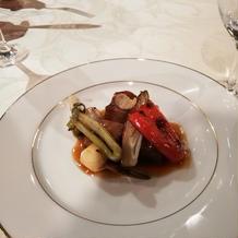 お肉と季節の野菜