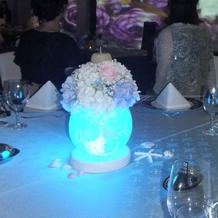 LEDライトで雰囲気も変わります。