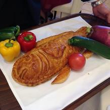 魚のパイ包み