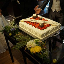 ケーキの上にはでっかいまっくろくろすけ