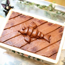 ジブリのニシンのパイ風ケーキです