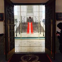 迎賓館の入口