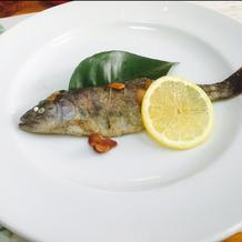 さっぱりとした魚料理!